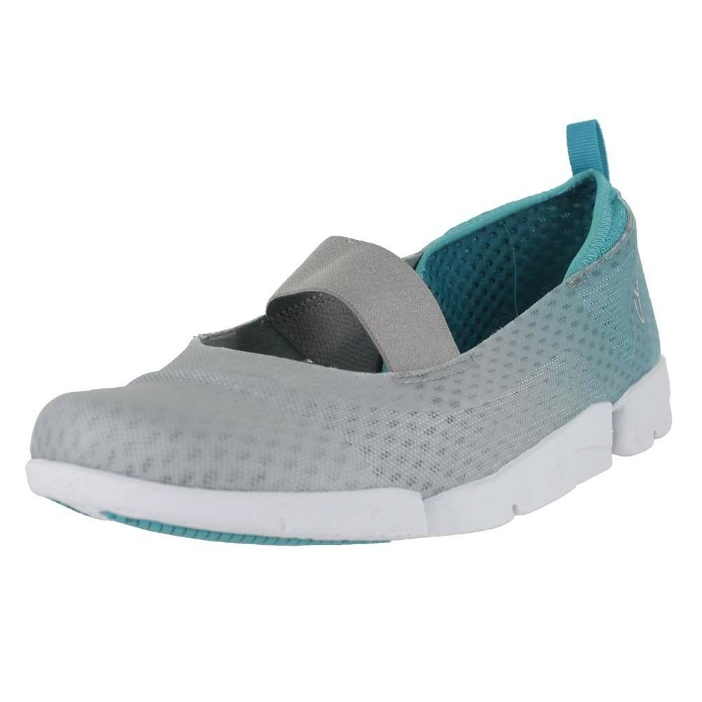 CLARKS TRI STEP GREY SYNTH 26117728 M WOMENS US SIZES
