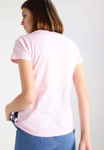 Gant Ladies New  Gant Print   Tee-Shirt  Pink