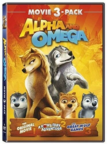 Alpha And Omega: 3-movie Pack, Part 1 [New DVD] 3 Pack, Ac-3/Dolby Digital, Do