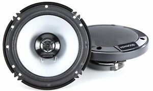 KENWOOD-KFC-1666S-600W-6-5-034-KFC-2-Way-Coaxial-Car-Speakers-Pair