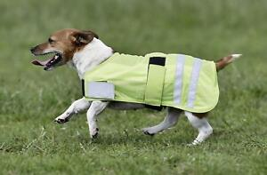BUSSE-Hundedecke-Reflection-gelb-25-75cm-Hundemantel-Decken-Reflektordecke