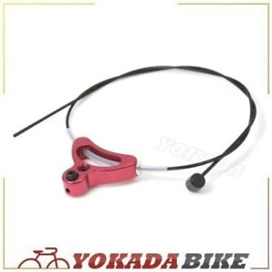 Aluminum alloy bicycle triangle brake cable hanger U-brake /& cantilever GOLD