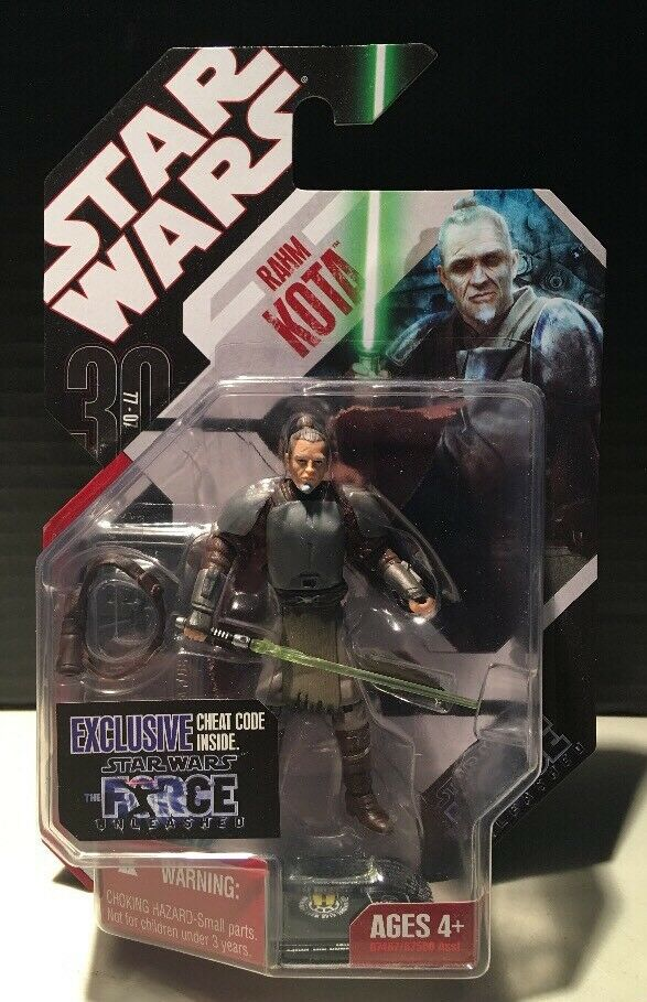Star Wars Force Unleashed Rahm Kota New Sealed On Card Action Figure