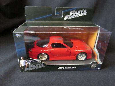1:32 jada Mazda rx-7 fast N Furious dom red