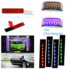 LED Solar Warning Lights Decorative Lights Protector Car Anti-collision Strip