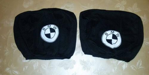 2 Schwarz Kopfstütze Abdeckung für BMW Kopfstütze Abdeckung 316 325 M3