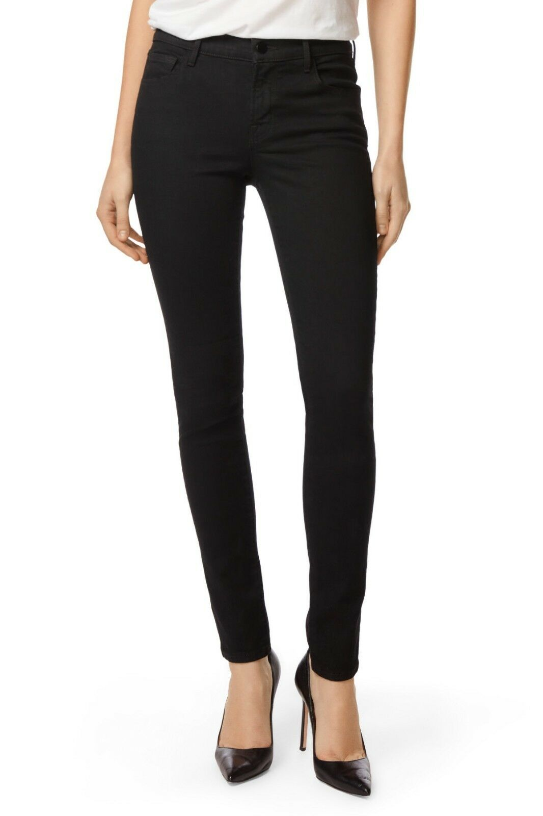 J Brand Womens Super Skinny Jeans in Drizzle Drizzle 29