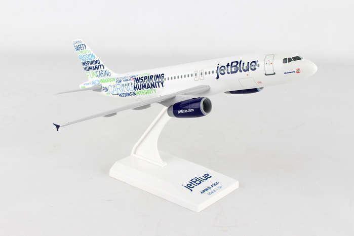 SKR974 Skymarks Jetbluee A320 1 150 blueemanity Model Airplane