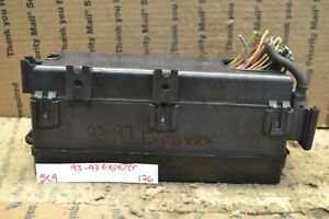 93-97 Ford Explorer 4.0L Fuse Box Junction Oem F67B14A003AA Module 176-5C9    eBayeBay