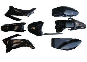 WHITE Plastics Guard Fairing Fender Kit TTR110 140c 150cc PITPRO Trail Dirt Bike
