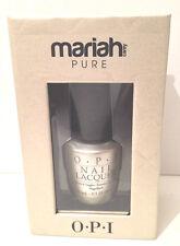 OPI Mariah Carey Pure 18K White Gold & Silver Top Coat 15ml x2 Bottles!!!