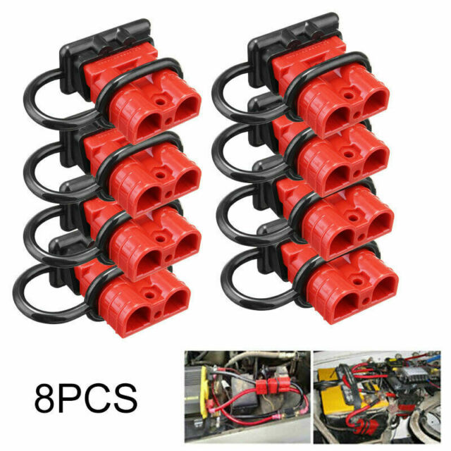 Monland 50A Battery Quick Connect Disconnect Wire Harness Plug Kit for Recovery Winch or Trailer
