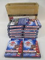 Bakugan Battle Brawlers playing Card & Dice Game Lot 12 Sets 1 Full Case