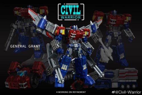 Civil Warrior General Grant CW-01 CW01 Optimus Prime OP Toy in stock