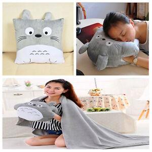 My-Neighbor-Totoro-16-039-039-Plush-Pillows-Soft-Cushion-Hand-Warmer-blanket-Gift-New