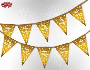 Happy-New-Year-Stars-Gold-Bunting-Banner-15-flags-by-PARTY-DECOR