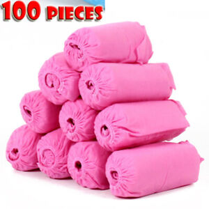US100Wearable Disposable Anti Skid Durable Non Woven Fabric Non-slip Shoe Covers