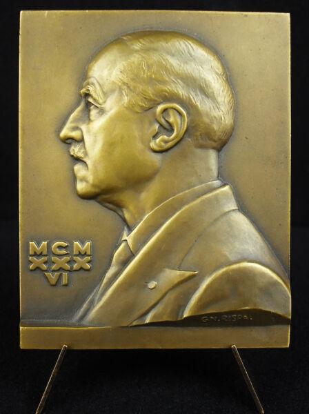 100% De Qualité Médaille Gaston Milian Médecin Dermatologue Solution 1936 Hopital St Louis Medal Saveur Pure Et Douce