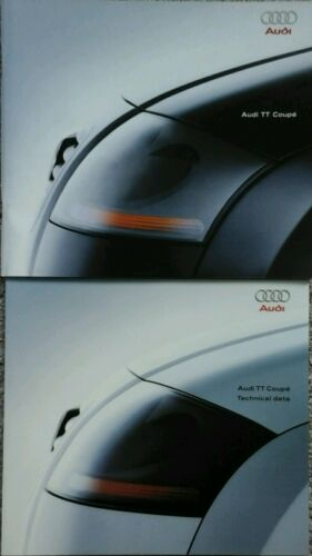 June 1998 # Audi TT Coupe Sales Brochure /& Technical Data Specifications guide