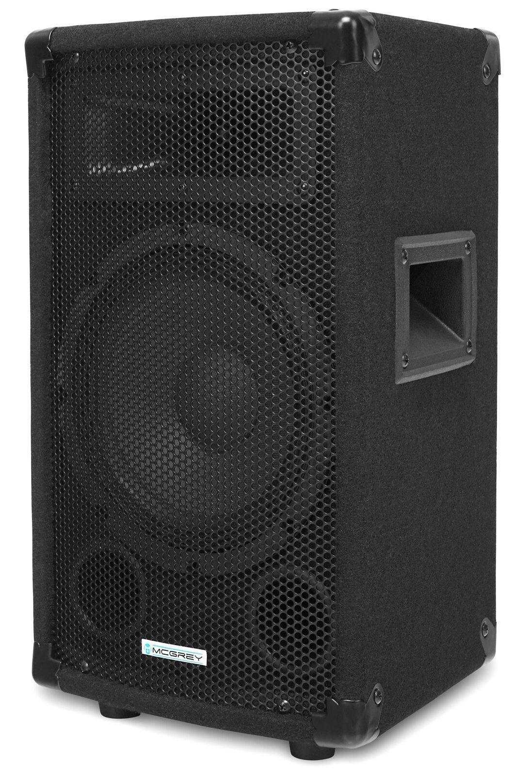 CASSA ALTOPARLANTI ACUSTICHE DJ PA HIFI PARTY 8  (20CM) SUBWOOFER MONITOR 300W