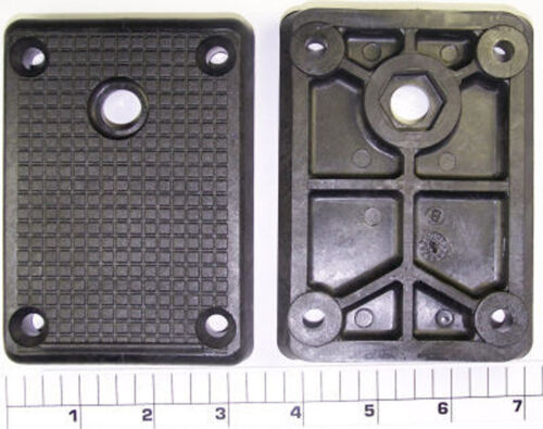 MOUNTING BASE PLATE WITH HARDWARE Replaces PENN PART 133-600 for FATHOM-MASTER