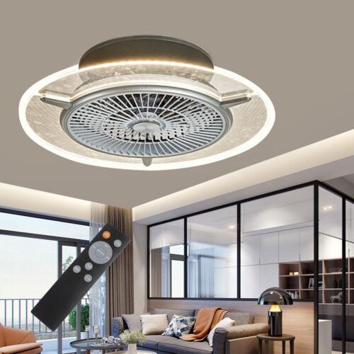 48W Deckenventilator mit Stumm Fan LED Beleuchtung Licht Dimmbar+Fernbedienung