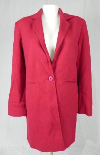 NOUVEAU Disponible Rouge Un Bouton Doublé Blazer Jacket Coat D1-3