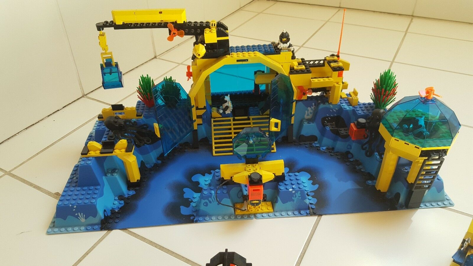 LEGO     Unterwasserwelt.. alles komplett.. MEGA COOL