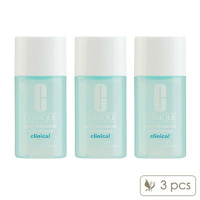 United 3 Pcs Clinique Anti-blemish Solutions Clinical Clearing Gel 15ml X3= 45ml#9613_3 Skin Care Other Skin Care