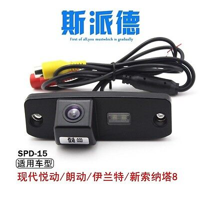 CCD Night Vision HD rearview camera for HYUNDAI Elantra Sonata NF Tucson ACCENTT