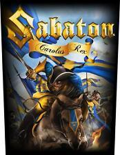 Sabaton Carolus Rex  Rückenaufnäher 602181 #