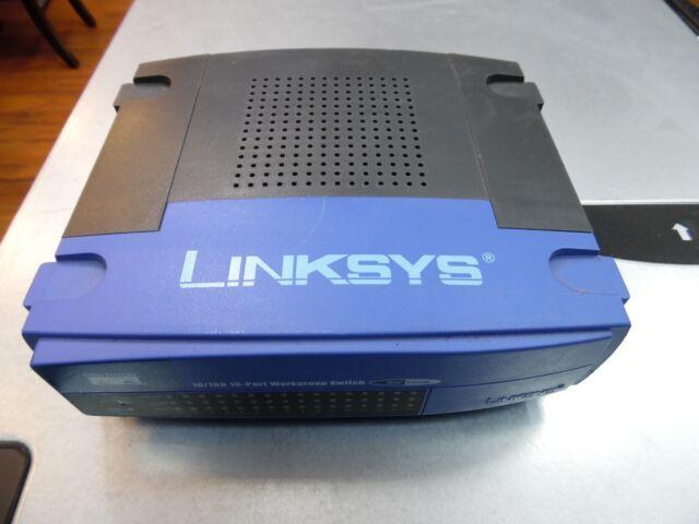 LINKSYS EZXS16W 10/100 16-Port Workgroup Switch .