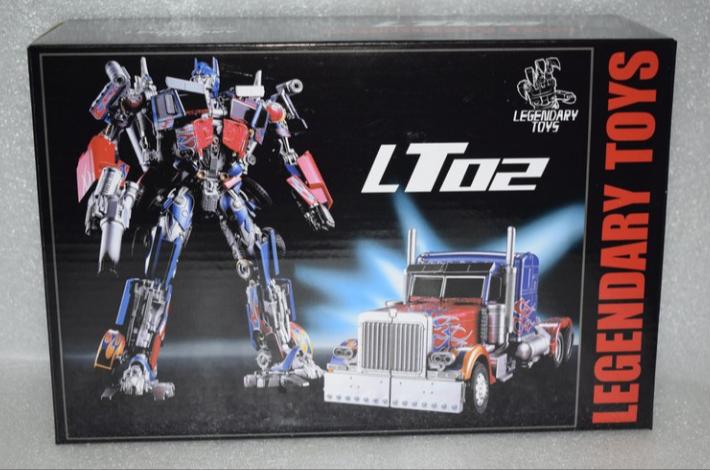 Nouveau Darytoys  LT02 Optimus Prime Case  commander maintenant les prix les plus bas