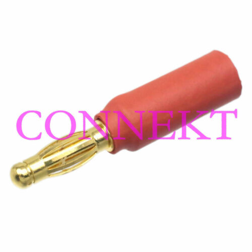 1pce 5.5MM Female to 4MM 4.0MM Male Bullet No wire connector For ESC//Motor