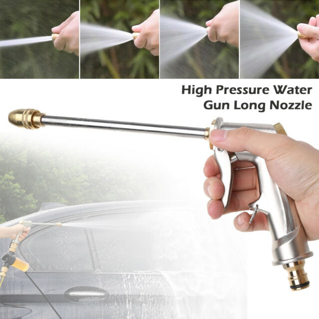 Pressure Spray Washing Gun Soap Dispenser Watering Hose Nozzle Car Garden