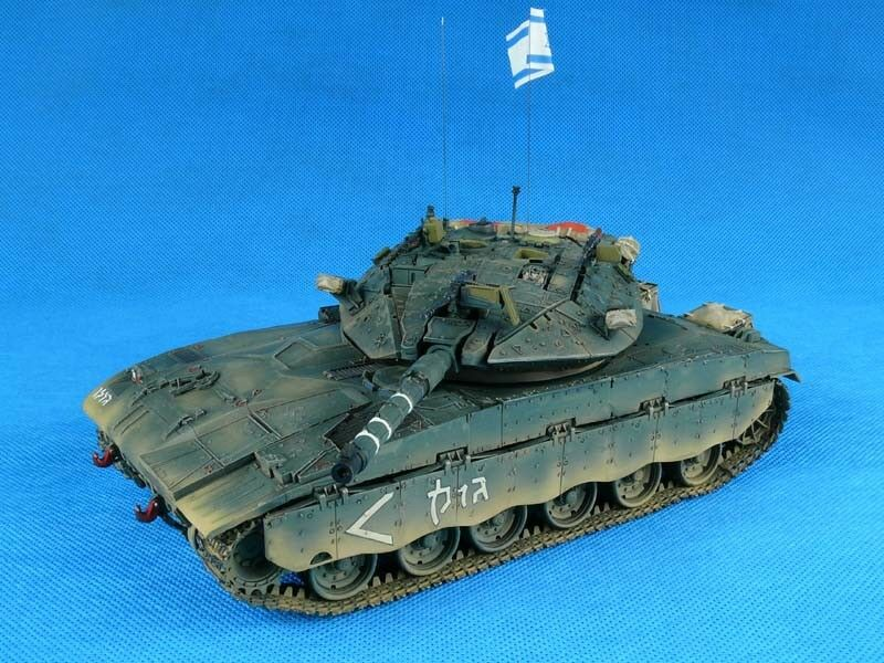 1 35 Built IDF Merkava Mk.II D - Built 1 35