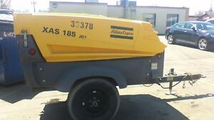 Atlas Copco Portable Air Compressors Towable Mobile