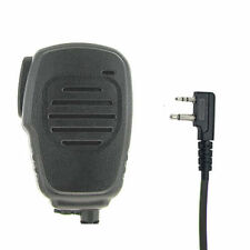 Compact Waterproof Two-Way Radio Speaker Mic for Maxon and Midland Audio Jack