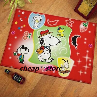 2020 Snoopy Peanuts Soft Bathroom Kitchen Outdoor Doormat Floor Mat Rug Pad 12#