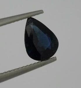 Hermoso-Natural-1-53CT-Suelto-Corte-Pera-Piedra-Preciosa-Zafiro-8-9MM