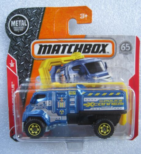 Police XCANNER  65 Anniversary  Matchbox 1//30  1:64  OVP  NEU