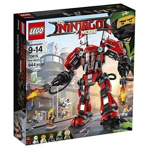 Lego Ninjago Film Fire Mech 70615 Building Kit (944 pièces)