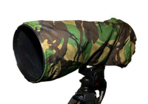 Los fotógrafos Camuflaje cámara y lente tapa contra polvo Canon Nikon 600 Mm F4