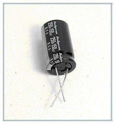 5Pcs 250v 68uF 250V BXA Rubycon  electrolytic Capacitor 18x20mm 105 power supply