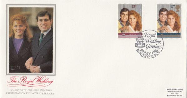 (10491) Gb Pps Fdc Fergie Mariage Royal Windsor 22 Juillet 1986