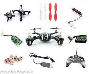 Hubsan-X4-H107-Cuadricoptero-RC-Todo-Repuesto-Partes-amp-Upgrades