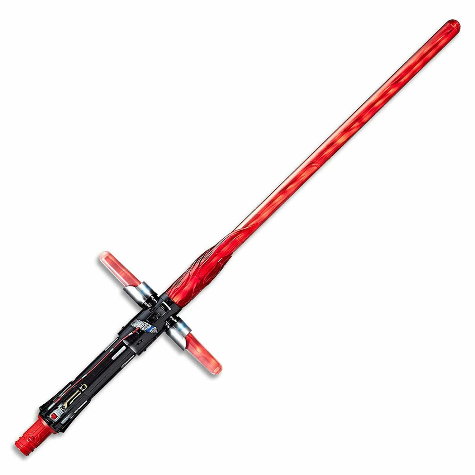 Star Wars-The Last Jedi - Kylo Ren Deluxe Lightsaber with lights & sound effects