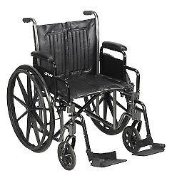 McKesson-Wheelchair-Steel-20-034-W-x-16-034-D-Swing-Away-Footrest-146-SSP220DDA-SF