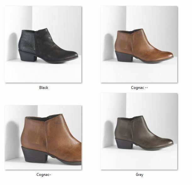 NIB Simply Vera Danna   Ankle Boots Choose
