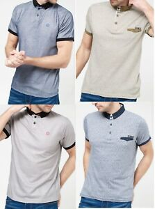 Nuevo-polo-para-hombre-cubierta-y-Pato-T-Shirt-Camisa-Polo-Pique-Algodon-Con-Cuello-Top-S-2XL